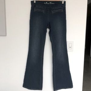 Juicy Couture Flared Stretch Jeans